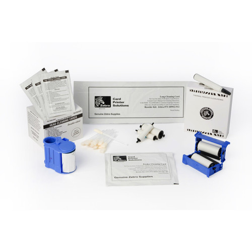 Cleaning Kit (12-X & Y roller cleaning cards & 3 hot roller cleaning cards. For 60 000 prints) (ZXP8)