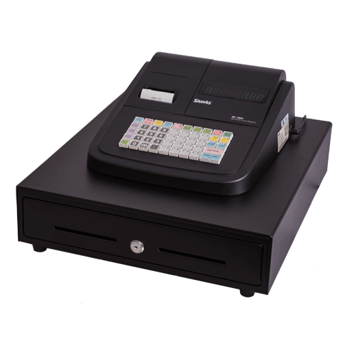 Sam4S ER-180U Basic Cash Register with Large Cash Drawer