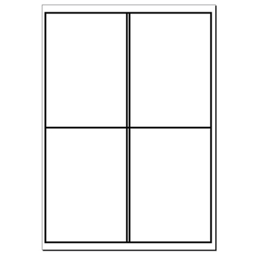 A4 Plain Laser Sheets Perm - 100 sheets per box - L17454