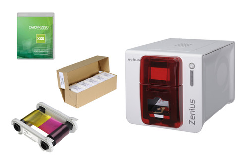 Evolis Zenius Classic Single Sided ID Card Printer (USB)