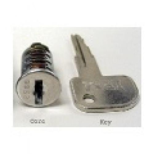 Cash Drawer Key & Lock Set For EC410/460