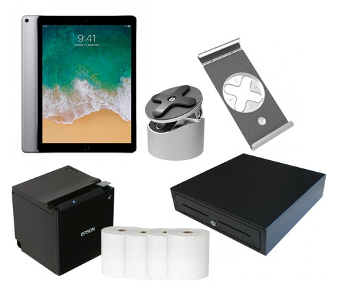 Apple IPAD 12.9 Inch POS Bundle - Bluetooth Printing With Charging Feature