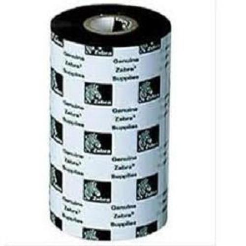 "RIBBON Zebra WAX - 110mm Wide & 74Metre Length - Core Size: 0.5"" by 110mm - Desktop Printers"