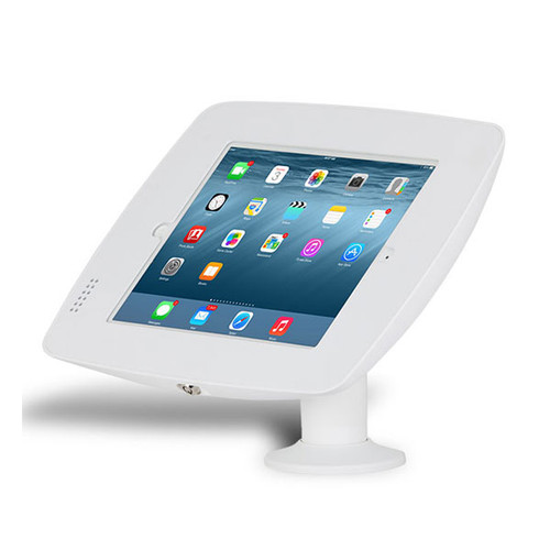 Fusion - Fixed Mount Rotate & Flip Enclosure Kiosk For IPAD AIR,  GALAXY 10.5 TAB S & SURFACE 3