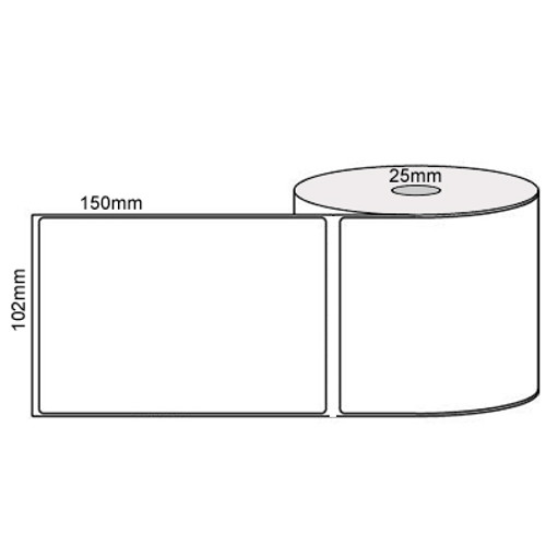 100mmX150mm (4' x 6') 1ACS 350/R (40mm Core) - Wound IN