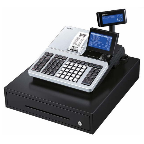 CASIO SRS500 CASH REGISTER WITH BLUETOOTH