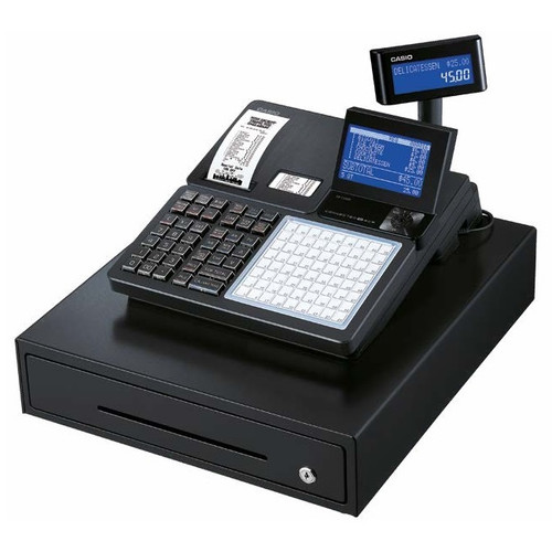 CASIO SRC4500 DUAL PRINTER CASH REGISTER
