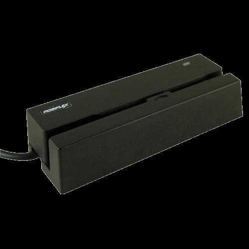 POSIFLEX MR-2100 MSR Track 1 2 3 USB interface Black