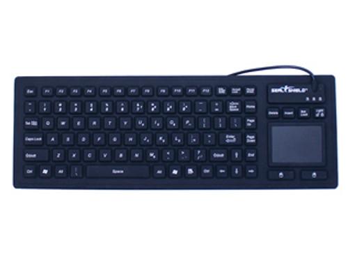 SEAL KEYBOARD 90K IP68 T-PAD USB BLK