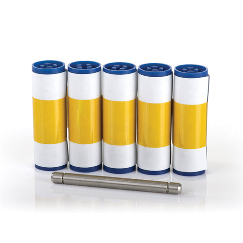 Adhesive cleaning sleeves (5/pack)