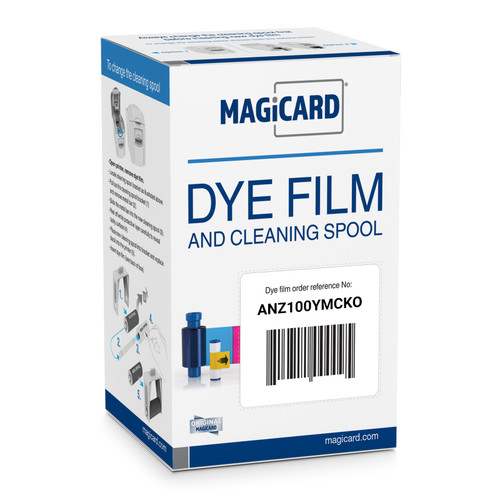 Magicard Colour Ribbon YMCKO - prints 100 for Mgicard Rio Pro, Enduro, Pronto