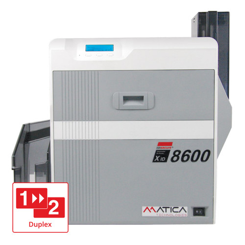 Matica EDIsecure XID8600 Double Sided Colour Printer w/USB & Ethernet