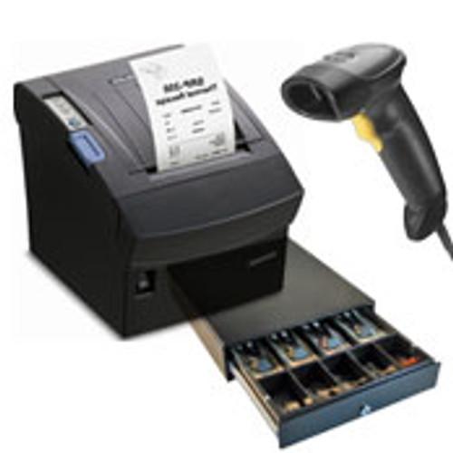 TM-T88VI SER/USB/ETHERNET+ Metrologic 1250G Voyager Scanner + CB910/EC410 Cash Drawer