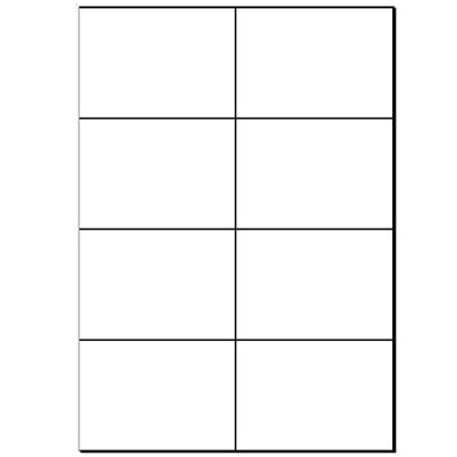 A4 Plain Laser Sheets Removable - 500 sheets per box - L13379
