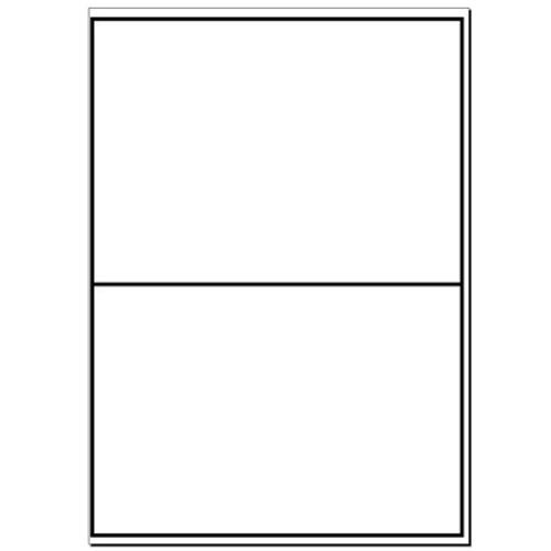 A4 Plain Laser Sheets Perm - 100 sheets per box - L17453