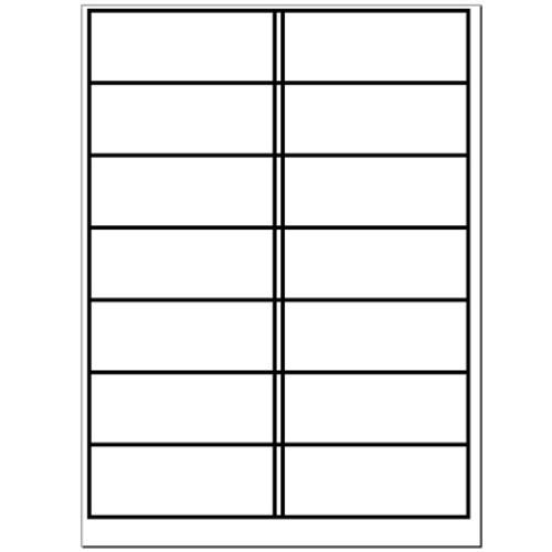 A4 Plain Laser Sheets Perm - 100 sheets per box - L17456