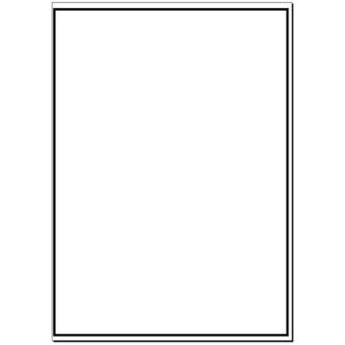 A4 Plain Laser Sheets Perm - 100 sheets per box - L17452