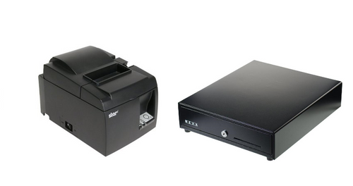 Star TSP654 Bluetooth + Cash Drawer