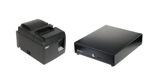 Star TSP654 Bluetooth + Cash Drawer