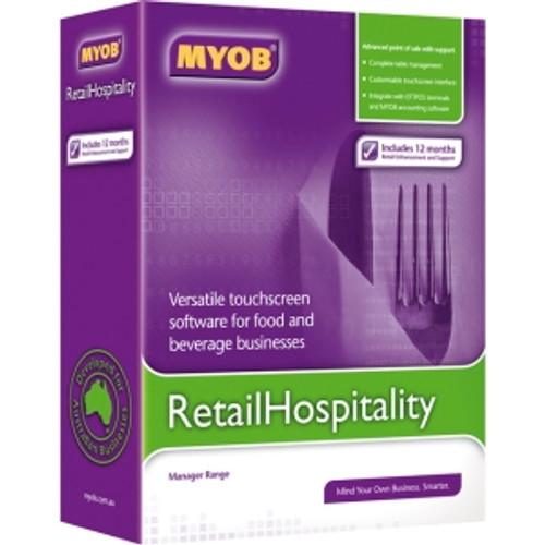 MYOB RETAIL/HOSPITALITY SOFTWARE