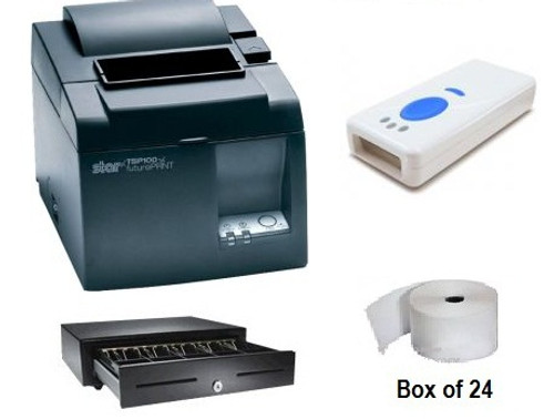 Touch Bistro Compatible Bundle #1 (Receipt Printer + cash Drawer)