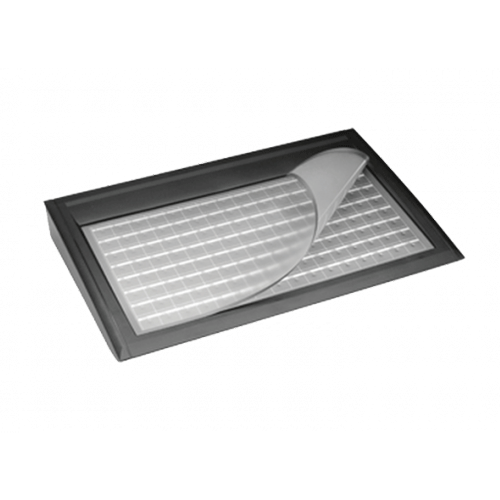 TIPRO Free Range 128 Key Membrane Keyb USB Black