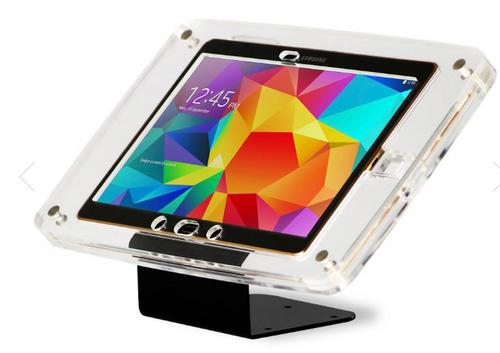 CRYSTAL TABLET WALL & TABLE ENCLOSURE MOUNT | WITH BRACKET