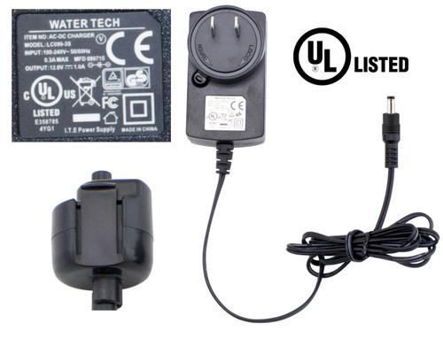 LC099-3S6X099 - LITHIUM Wall Charger WITH ADAPTER  for Max Li,Max Li CG, Max Li HD, Millennium Li, iVac 350 Li, Volt FX-8 Li