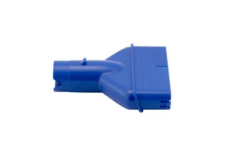 P22X002  Vac Head Adapter-Blue (Use w/ Centennial, Centennial Li, Eclipse, Eclipse Li,  IVAC M3, IVAC 350, IVAC 350 Li, Speed Vac, Fusion, Hydro)
