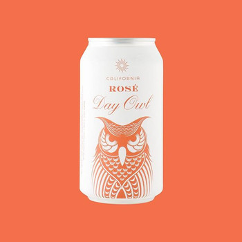 Day Owl Rose Can 375ML