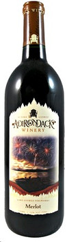 Adirondack Winery Fireworks Merlot 750ML