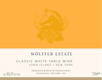 Wolffer Estate Classic White Table Wine 750ML