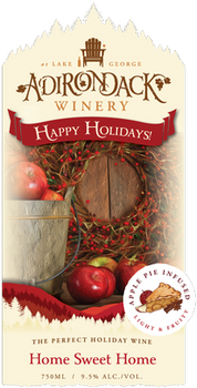 Adirondack Winery Home Sweet Home Apple Pie 750ML