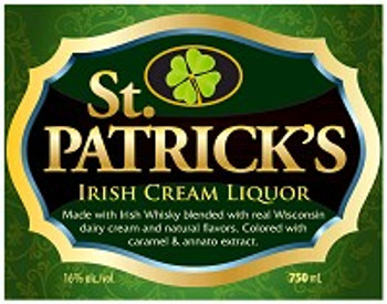 St. Patricks Irish Cream 750ML