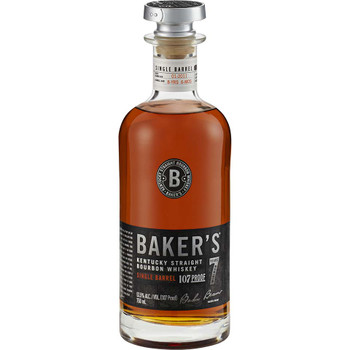 Bakers Bourbon 7Yr Single Barrel 107 750ML
