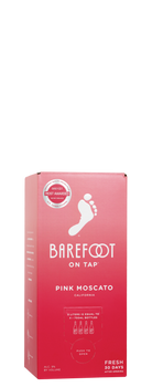 Barefoot On Tap Pink Moscato 3L