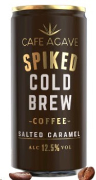 Cafe Agave Cold Brew Salted Caramel Cocktail 4 Pack 187ML
