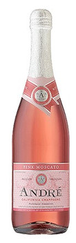 Andre Pink Moscato Champagne 750ml