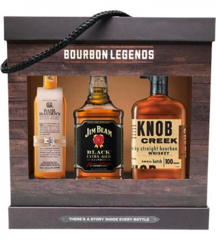 Bourbon Legends 3 Pack