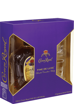 Crown Royal Canadian Whisky Gift Set 750ML