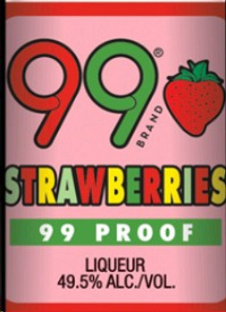 99 Schnapps Strawberries 50ml
