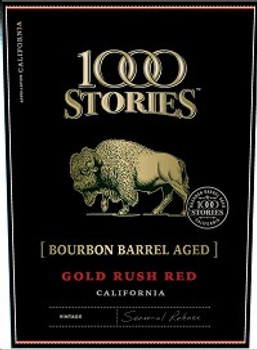 1000 Stories Gold Rush Red Blend 750ml