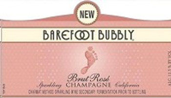 Barefoot Bubbly Brut Rose 750ML