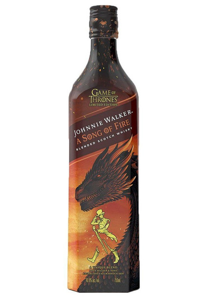 Johnnie Walker Game of Thrones Song of Fire Limited Edition Scotch Whisky 750ml
