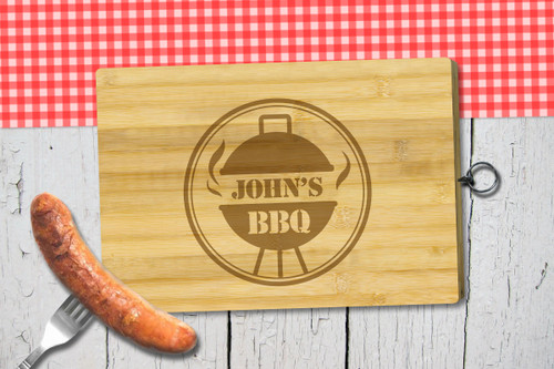 Personalised Chopping Board Standard - BBQ - Kettle