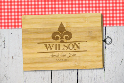 Personalised Chopping Board Standard - Couples - Spearhead