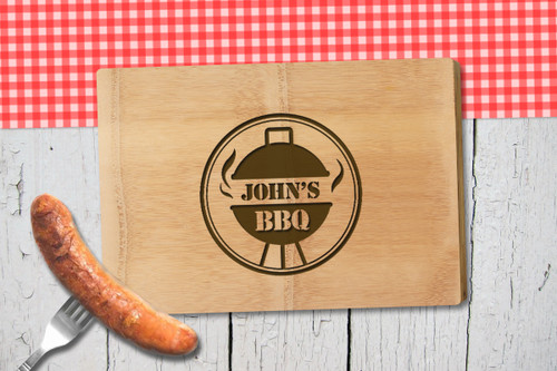 Personalised Chopping Board Premium - BBQ - Kettle