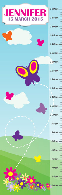 Growth Chart - Butterflies