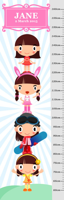 Growth Chart - Girls