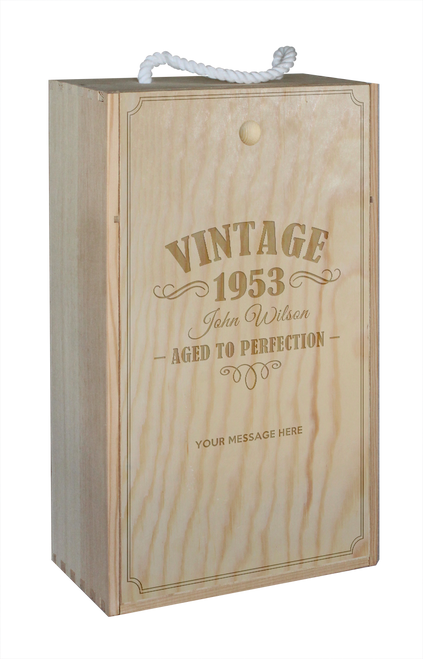 Wine Box - double - Vintage